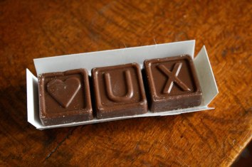 UX chocolate